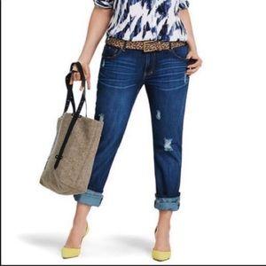 Cabi 3045 skinny boyfriend jeans size 10
